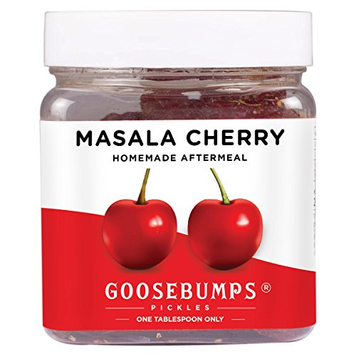Goosebumps Pickles Homemade Masala Cherry After Meal, 250g Cherry Pickles