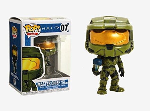 Funko POP! Games: Halo Master Chief with Cortana Collectible Figure, Multicolor]()