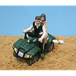 ATV Camo Wedding Cake Topper by Magical Day