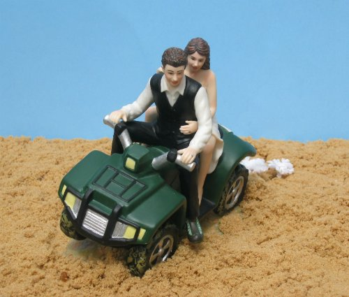 ATV Camo Wedding Cake Topper by Magical -