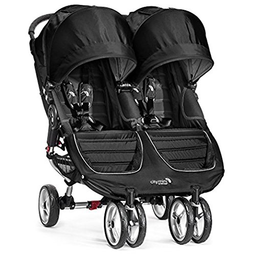 Baby Jogger 2017 City Mini Double (Black/Gray) For Sale