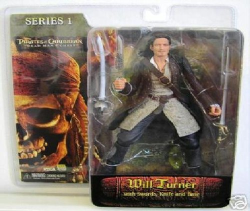 NECA Pirates of the Caribbean Dead Man's Chest Series 1 Action Figure Will Turner