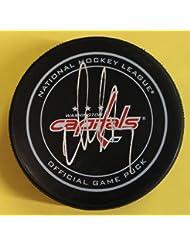 Alex Ovechkin Autographed Washington Capitals Official NHL Hockey Puck JSA