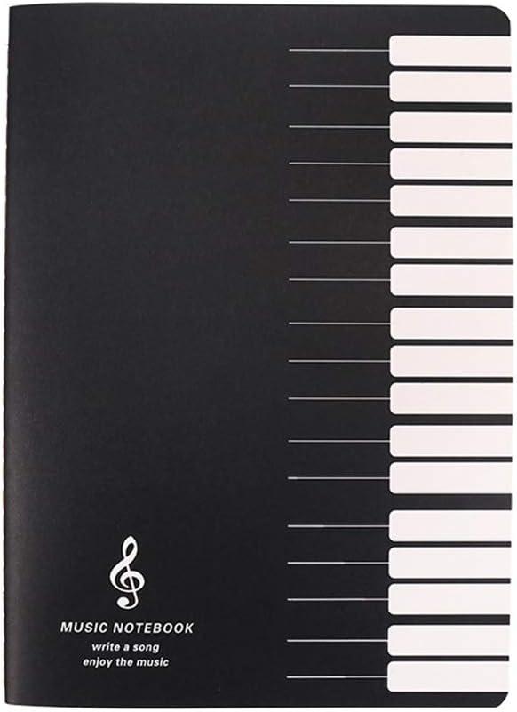 amyove 18hojas B5cuaderno pentagrama Universal para Piano violín trompeta etc. (modelo AL azar)