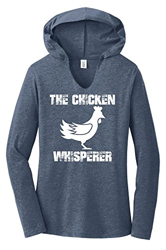 Comical Shirt Ladies The Chicken Whisperer Navy Frost M from Comical Shirt