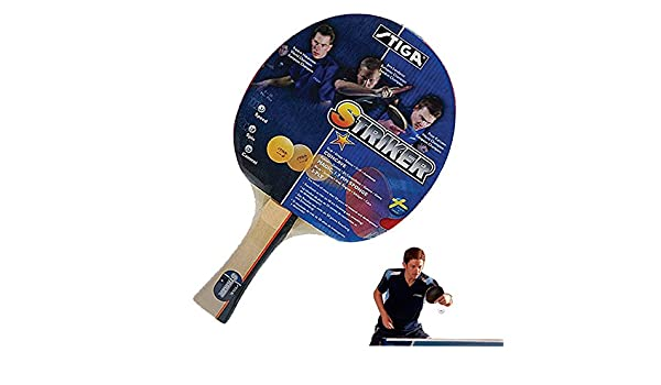Amazon.com : STIGA Striker 1 Star Table Tennis Racket ...
