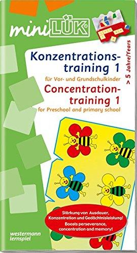 miniLÜK / Schuleingangsphase: miniLÜK: Konzentrationstraining 1: für Vor- und Grundschulkinder
