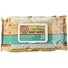 Earth's Best Baby Wipes,Chlor Fr,Refil - 72 Pack