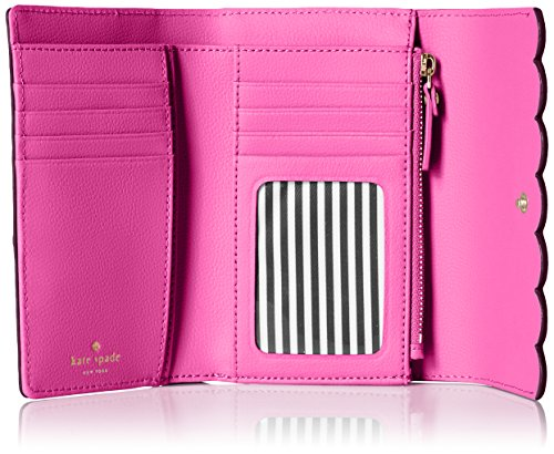 Lily Avenue Patent Kieran Wallet, Mahogany/Radish, One Size