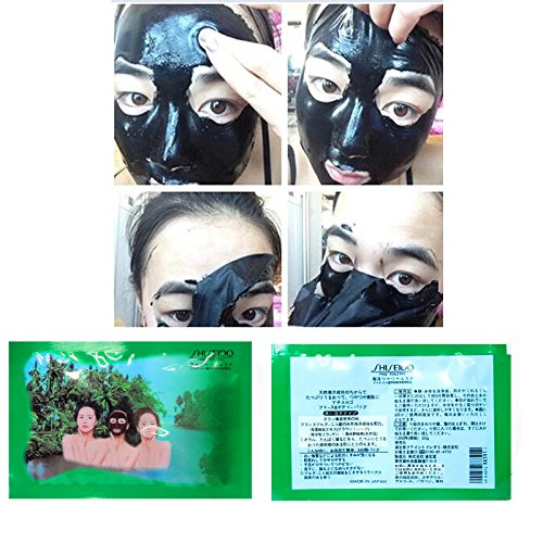 Only 3 Days Promotion with Special Gift. Organic Mud Mask Peel Off Clay Mask for Blackhead From Japan Sample 0.7oz Pack-10 Sachet.