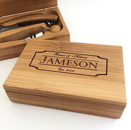 Personalized Corkscrew Boxed Set