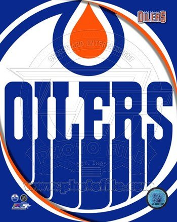 Edmonton Oilers 2011 Team Logo Sports Photo (8 x 10) (Edmonton Oilers Team Logo Poster)