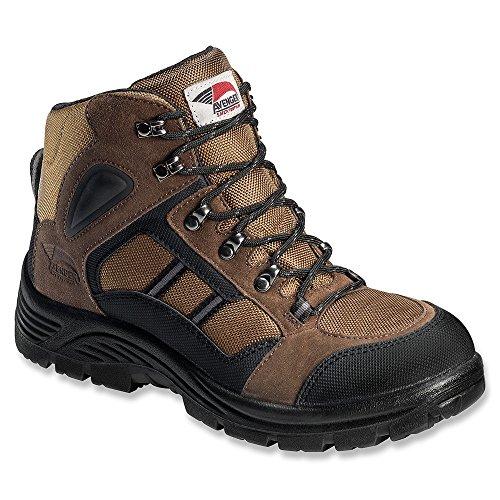 Chaussures De Sécurité Avenger Homme 7241 Chaussure De Randonnée En Acier Brun