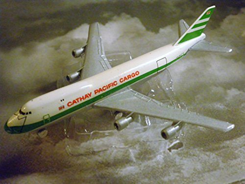 Cathay Pacific Cargo Hong Kong Airline 747-C Jet Plane 1:600 Scale Die-cast Plane Made in Germany by (Cathay Pacific Airlines)