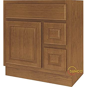 Bathroom Vanity Oak 30x18