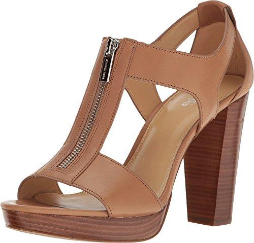 Michael Michael Kors Berkley T-Strap Platform Dress Sandals Cashew 10 M
