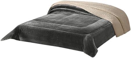Colchas Concord CBOM0108 Cobertor Borrega Argos, color Gris