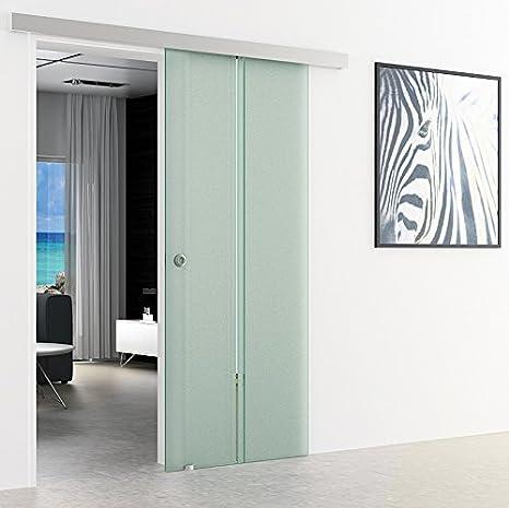Dorma agile{50} puertas corredizas de vidrio-System de cristal | 1025 x 2050 mm | Vertical de rayas | Diseño de concha mango satinado con{2} clara vertical de rayas | Diseño de concha