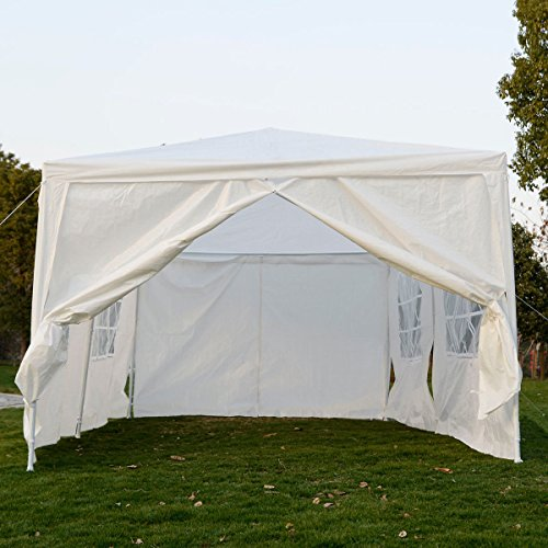 New 10'x20' Canopy Outdoor Party Wedding Tent Heavy duty Gazebo Pavilion Cater Events White (Outdoor Furniture Settings Brisbane)