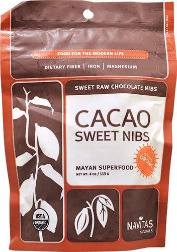 Navitas Naturals Organic Cacao Sweet Nibs -- 4 oz - 2 pc