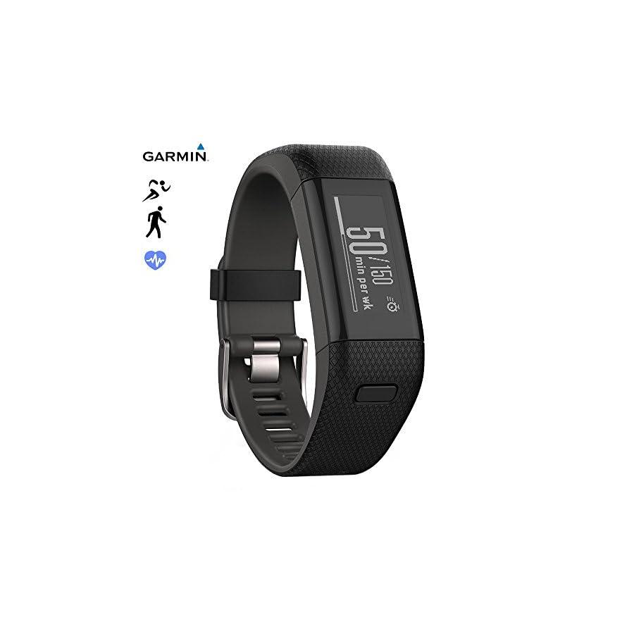 Garmin Vivosmart HR+ Activity Tracker Regular Fit, Imperial Purple (010 N1955 37) (Certified Refurbished)