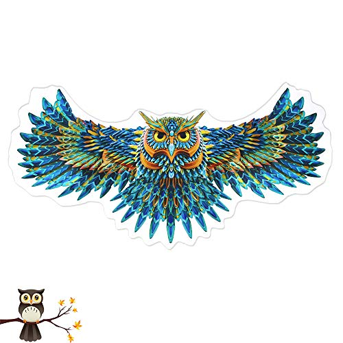 Toddlers Kids Bird Costumes Wings Feathered for Boys Girls Animal Fancy Dress-up Party Accessory (Owl Wings) ()