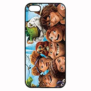 The Croods Image Protective Iphone 5s / Iphone 5 Case Cover Hard Plastic Case for Iphone 5 5s