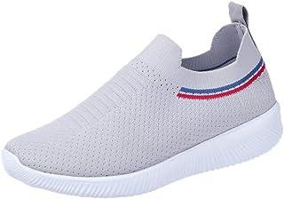 LMMET Scarpe Sportive Donna Sneakers Scarpe da Ginnastica Runnning,Scarpe Sportive da Donna Sportive, Un Pedale, Primavera, Leggero, Traspirante
