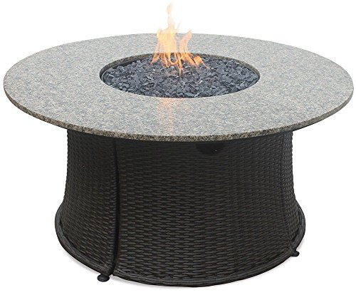 Endless Summer GAD15021M GAD1375SP LP Gas Outdoor Granite Mantel, Bronze Fire Table