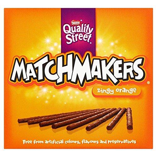 Nestle Matchmaker Zingy Orange - 130g - Pack of 2 (130g x 2 Boxes) ()