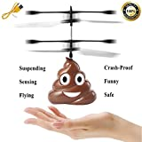 #3: Hobby-Ace Flying Toys Hovering Poop, Boys Girls Toys Gifts, Rechargeable Infrared Induction Helicopter Drone, Indoor and Outdoor Games for Kids