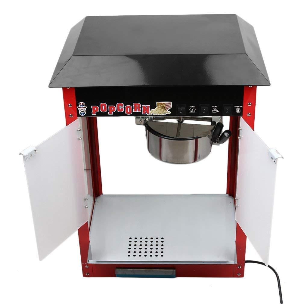 Profesional 8oz Popcorn Maker hostelería cafetera Pop Corn EU Plug ...