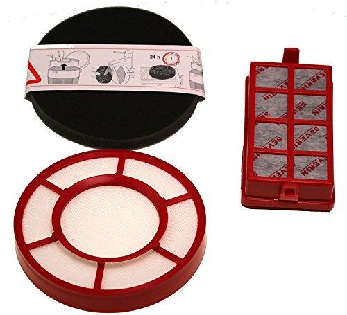 Severin 1560048 HEPA/filtro a carbone attivo di set per my7118 Aspirapolvere SEVERIN Elektrogeräte