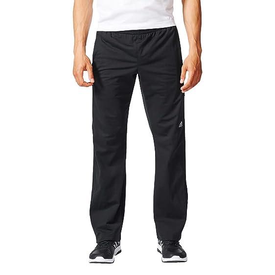 Adidas hombre 's Tapered Weekender drawstring pants (negro negro, X