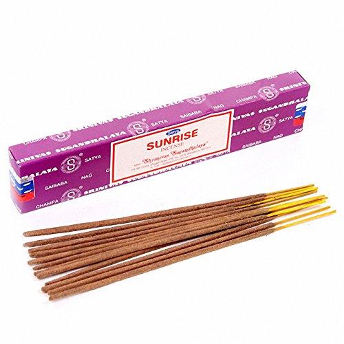 Satya Nag Champa Sunrise Incense Sticks - Box 12 Packs