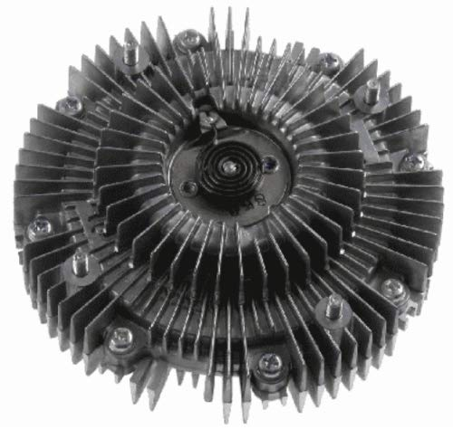 Lovey-AUTO OEM # 16210-30010 Radiator Viscous Coupling Fan Clutch Cooling for Toyota Hilux Land Cruiser Prado 2100 500 043 16210-30010