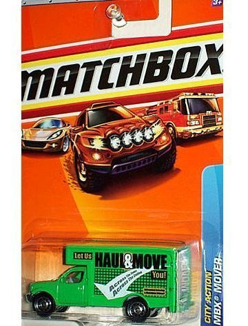 Matchbox 2010 MBX Mover, City Action # 61/100, 1:64 Scale. - Mbx Mover
