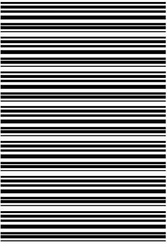 (Stripes Striped Stripe Black 16CC761 Fused Glass Decals)