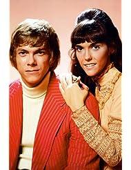 The Carpenters 24X36 Poster Richard and Karen 1970 studio portrait