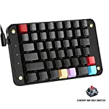 Koolertron Single-Handed Programmable Mechanical Keyboard with Cherry MX Red Switch, All 44 Programmable Keys Tools Keypad, 8 Macro Keys, PBT Keycaps – [SMKD82] (Cherry MX Red Switch) For Sale