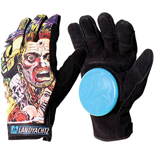 - Landyachtz Comic Slide Longboard Slide Gloves-XL