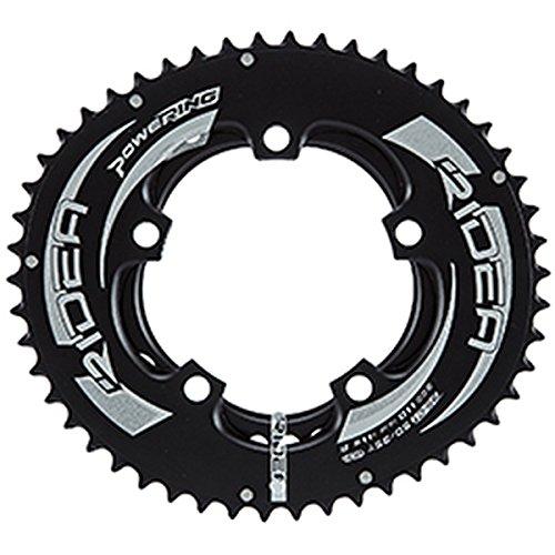 (RIDEA/リデア)(自転車用チェーンリング)ROAD POWER RING FULL PLATE 110 /5アーム 50/35T B0756RWMTH