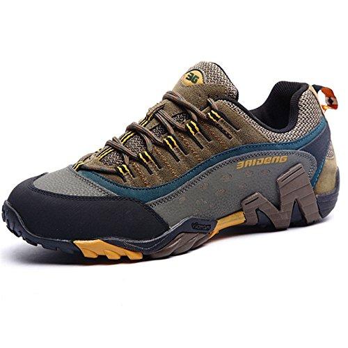 big sale ac5dc 00389 Size 36-45 36-45 36-45 Brand Outdoor Sport Shoes Men Sneakers Men Shoes  Running Shoes Men Leather Non-Slip Off-Road Walking... Parent B075FLL2NX  fd9b32