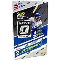 $107 Get 2019 Panini Donruss Optic Baseball HOBBY box (20 pks/box, TWO Autograph cards)