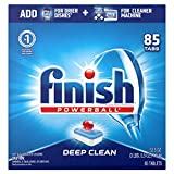 Finish Dishwasher Detergent, All in 1 Powerball, Fresh, 90 Tablets, Fast Action Clean