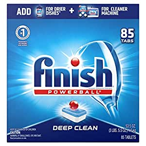 Amazon.com: Finish - All in 1-85ct - Dishwasher Detergent