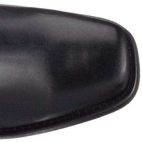 Dockers by Gerli 170102-002001, Stivali da Motociclista Uomo Nero (Schwarz 001)