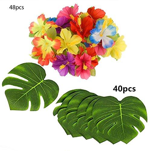 (Tropical Party Decoration 88 Pcs 20cm/8