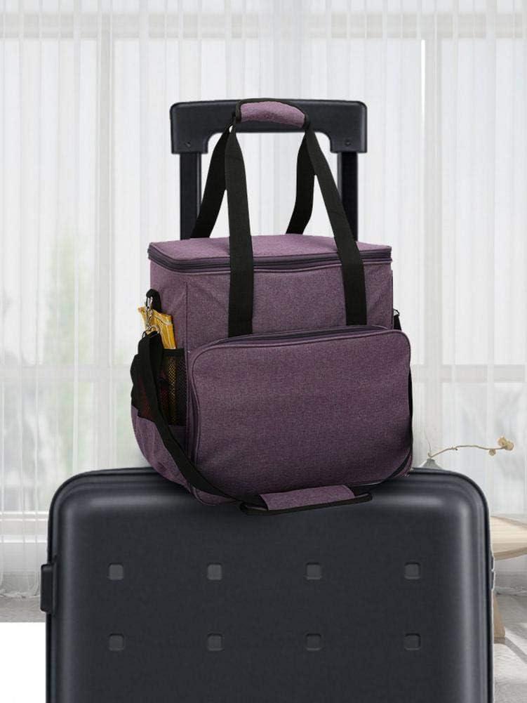 N/ähmaschine Tasche Tasche f/ür N/ähmaschine und Extra N/ähzubeh/ör Transport Tragbare gouxia74534 N/ähmaschinentasche