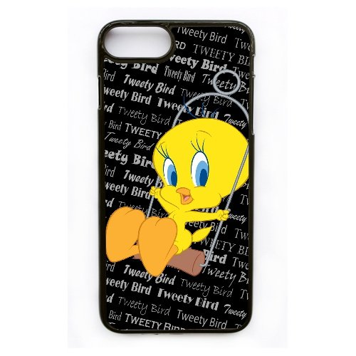 Coque,Apple Coque iphone 7 Plus (5.5 pouce) Case Coque, Generic Baby Angry Tweety Bird Cover Case Cover for Coque iphone 7 Plus (5.5 pouce) Noir Hard Plastic Phone Case Cover